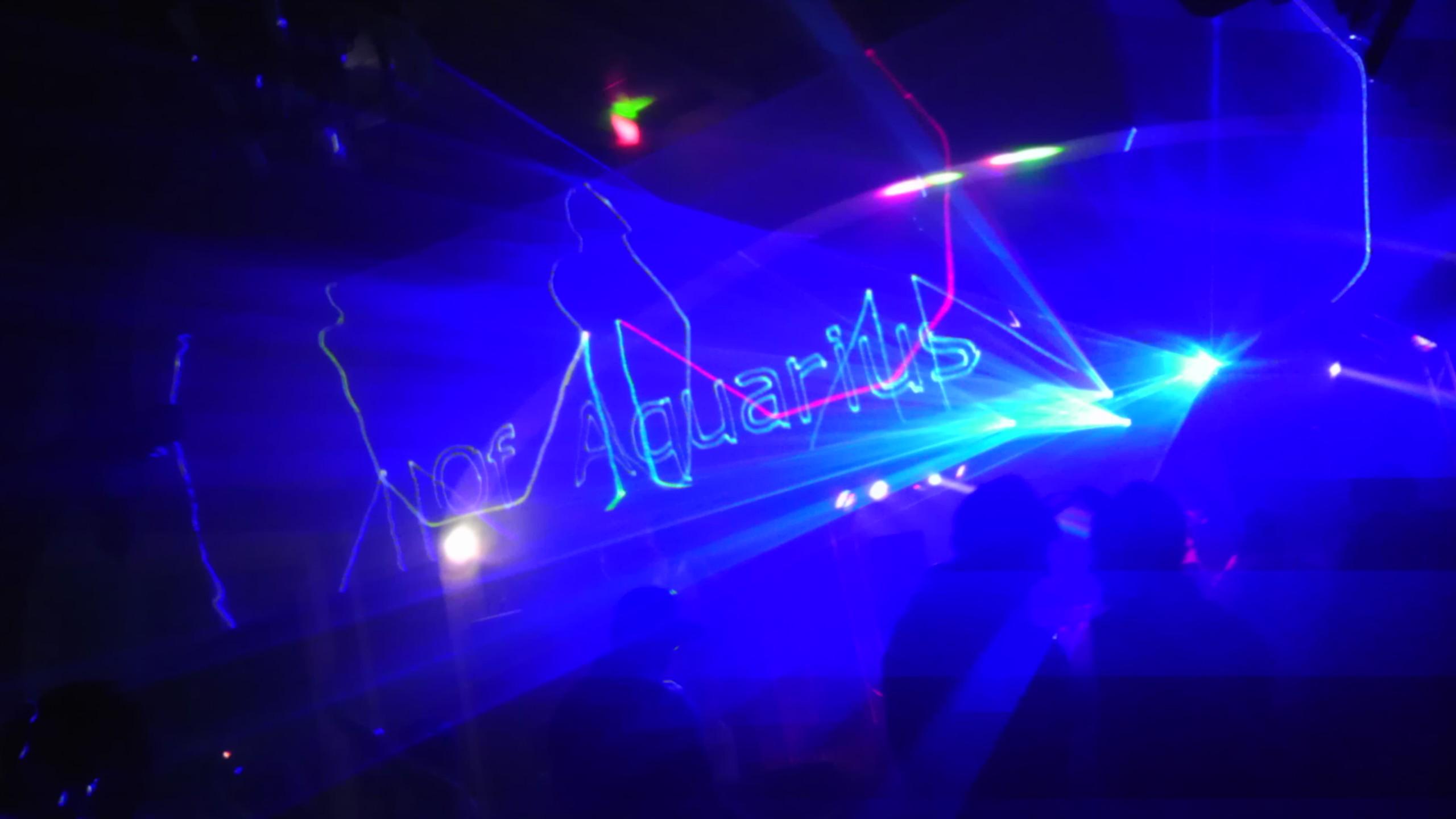 rave light show wallpaper