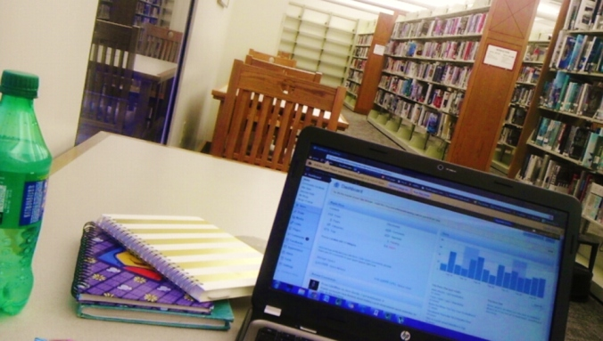 Libraries are great for blogging abotu your childhood journals.