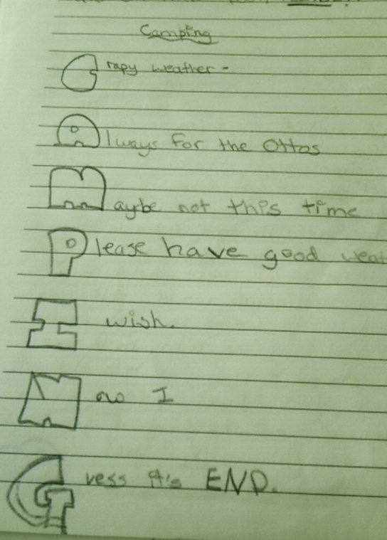 This should be the sole example of why acrostic poems should be banned from all elementary school curriculum.