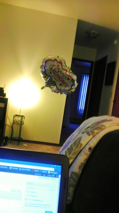 Judging balloon is judging you and your loneliness.