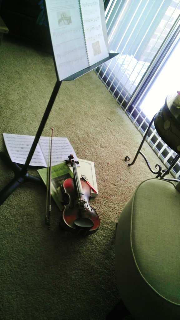 I like to confuse my upstairs neighbor by quickly alternating between Bach, irish jigs, and bluegrass waltzes.